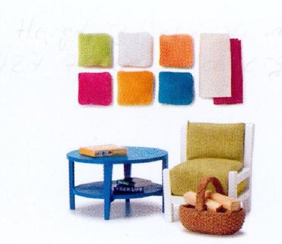 lundby gotland wohnzimmer set tisch sessel korb ebay. Black Bedroom Furniture Sets. Home Design Ideas