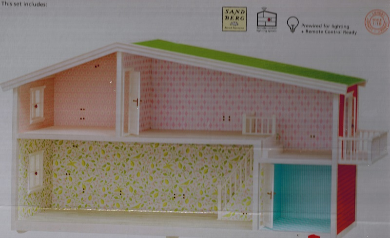 lundby smaland haus puppenhaus 1 18 ebay. Black Bedroom Furniture Sets. Home Design Ideas